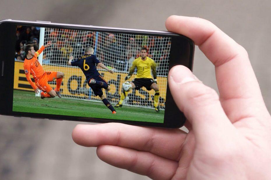 Aplicaciones para ver fútbol
