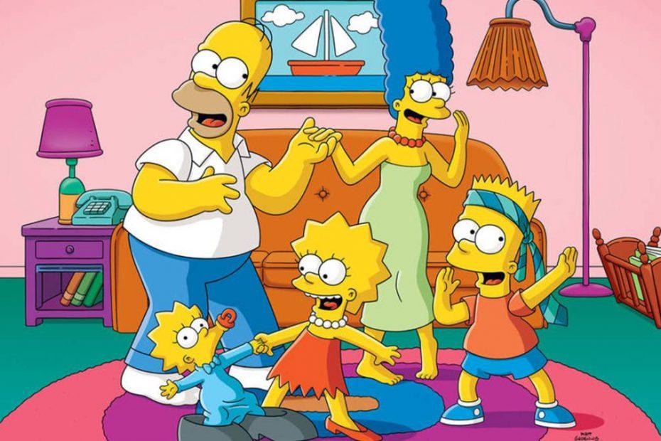 Aplicaciones para ver los Simpson online